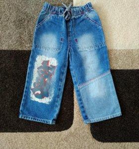 джинсы отдам, р. 92