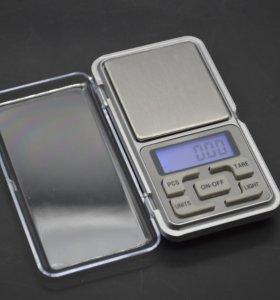 Портативные весы до 500 грамм