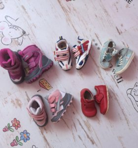 Обувь на девочку зима лето осень