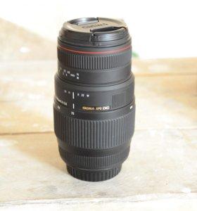Sigma AF 70-300mm f/4-5.6 APO Macro DG Canon