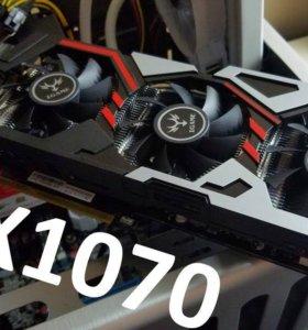 Почти новая GeForce GTX 1070