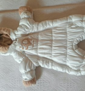 Детский зимний комбинезон на девочку Baby Go