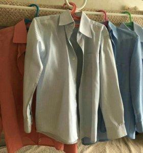 Школьные рубашки рост116-122 , 7-8 лет