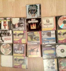 CD/DVD диски,игры,музыка,кино