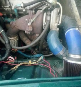 Двигатель турбо ваз
