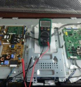 Ремонт телевизоров на дому и в мастерской