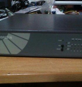 Неуправляемый коммутатор compex DSR2216 16-port