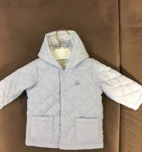 Куртка Benetton baby 62 размер