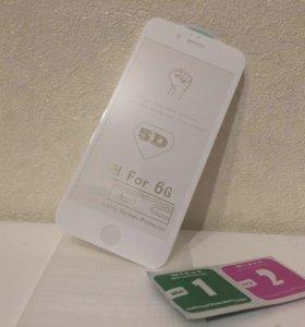 Стекло 5Д на iPhone и другие телефоны