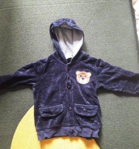 Куртка 9-12 месяцев(74- 80)