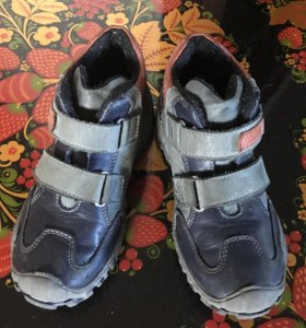 Ботинки кожаные Котофей 30 размер