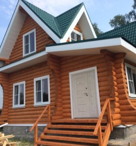 Строительство деревянных домов кровля отделка