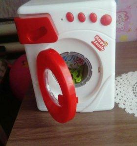 Детская музыкальная стиральная машинка