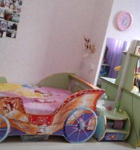 Детская мебель для девочки-принцессы