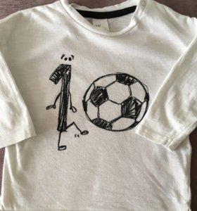 Футболка с длинным рукавом H&M