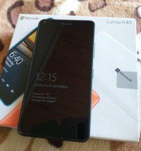 Lumia 640XL, black