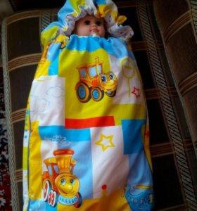 Продам детское новое одеяло