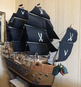 Деревянный корабль своими руками