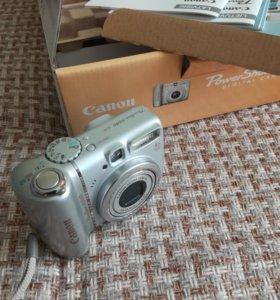 Цифровой фотоаппарат Canon A580