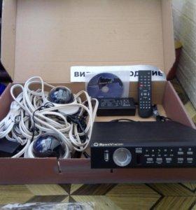 4-канальный видеорегистратор HQ-9604Р