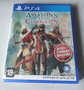 Assassin's Creed chronicles диск для ps4