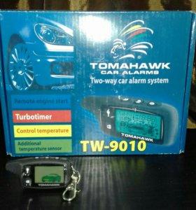 Автосигнализация TomahawkTW-9010 автозапуск