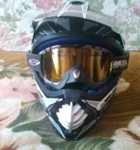 шлем M 57-58 окружность головы шлем 4000