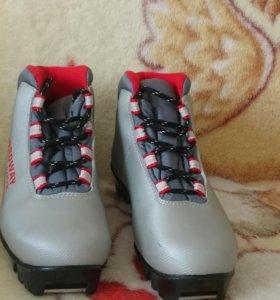 Лыжные ботинки 33 р