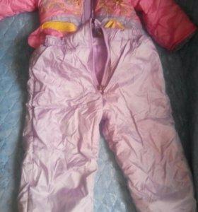 Куртка с камбинезоном