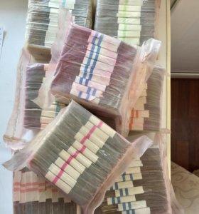 3,5,10,25 рублей  (кирпич) 1000 штук