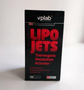 Жиросжигатель vplab lipojets thermogenic 100 caps