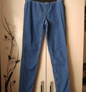 Лёгкие джинсы стрейч 42-44р-р