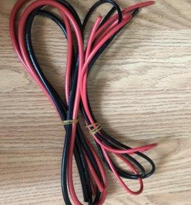 Провода 10/14 AWG, силиконовые по 1 м.