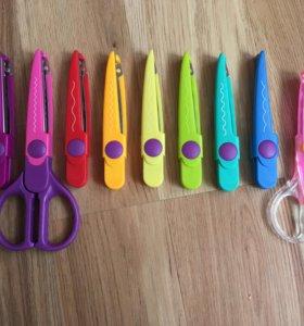 ножницы фигурные со сменными наконечниками