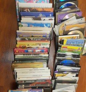 Диски DVD фильмы и мультфильмы