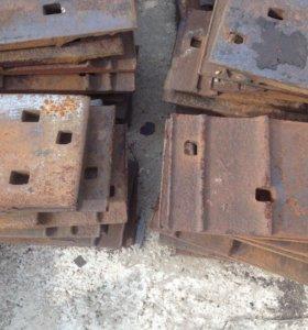 Железнодорожная подкладка р-50