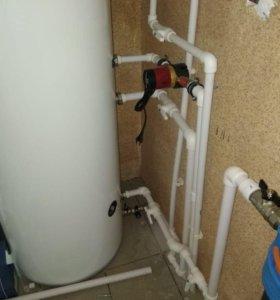 Отопление и водоснабжение. Сантехнические работы