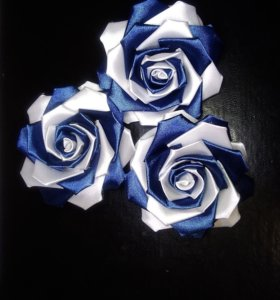 Розы на резиночке