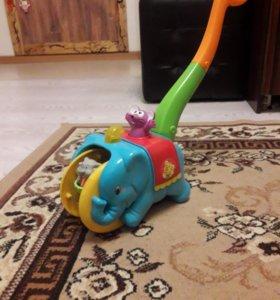 Каталка-слоник
