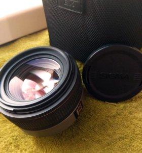 Объектив Sigma 30mm f/1.4 (Nikon) EX DC HSM AF