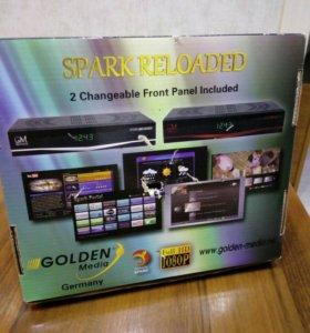 Спутниковый ресивер Golden Media Spark