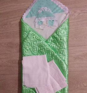 Одеялко/конверт на выписку