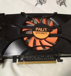 Видеокарта palit gtx 550 ti