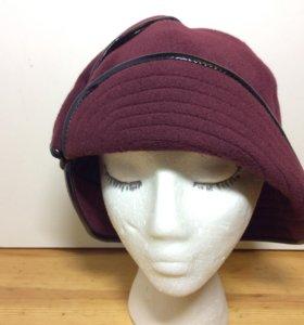 Ретро шляпка из итальянского кашемира,57-59,арт152