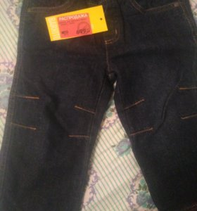 Новые утепленные джинсы на межсезонье