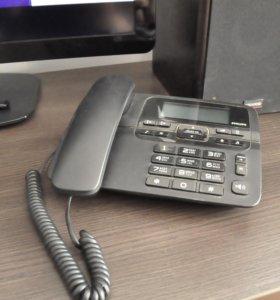 Телефон проводной с паматью