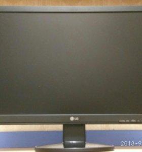 ЖК монитор LG 22 дюйма, разрешение 1680х1050