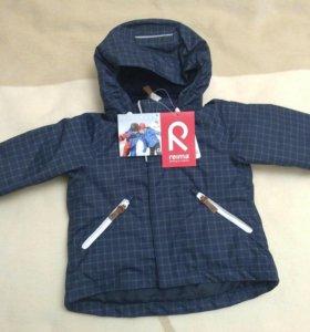 Новая зимняя куртка Reima 74+много