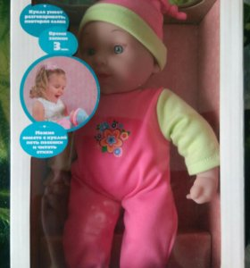 Интерактивная кукла Лиза, куклы, игрушки