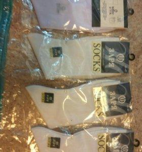 Носки белые 4 пары